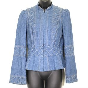Marc Jacobs Quilted Denim Jacket